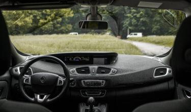 Renault Scenic перед